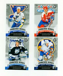 4-NICE-18-19-OPC-COAST-TO-COAST-FRANCHISE-HEROES-CARDS-MINT