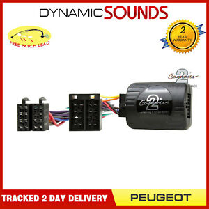 Admirable Ctspg006 Steering Control Stalk Adaptor For Peugeot 206 307 Ebay Wiring 101 Hemtstreekradiomeanderfmnl