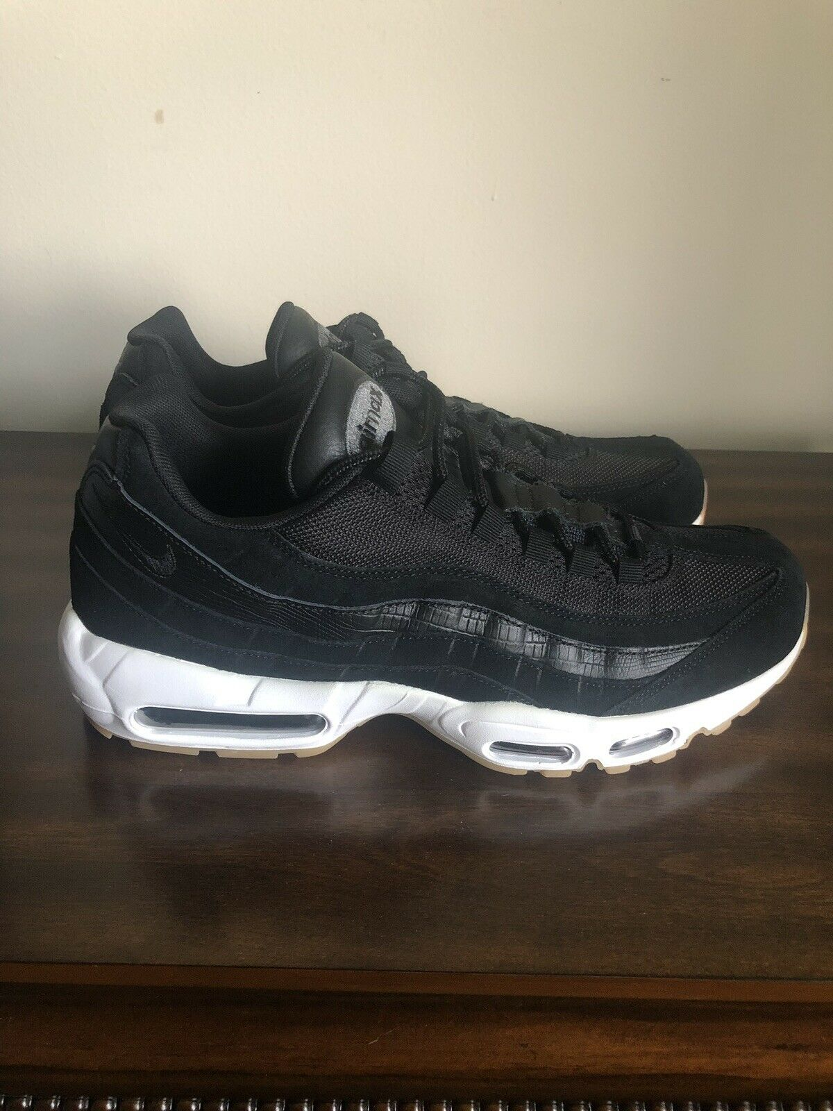 Nike Air Max 95 Essential All White Shoes For Men 807443 015