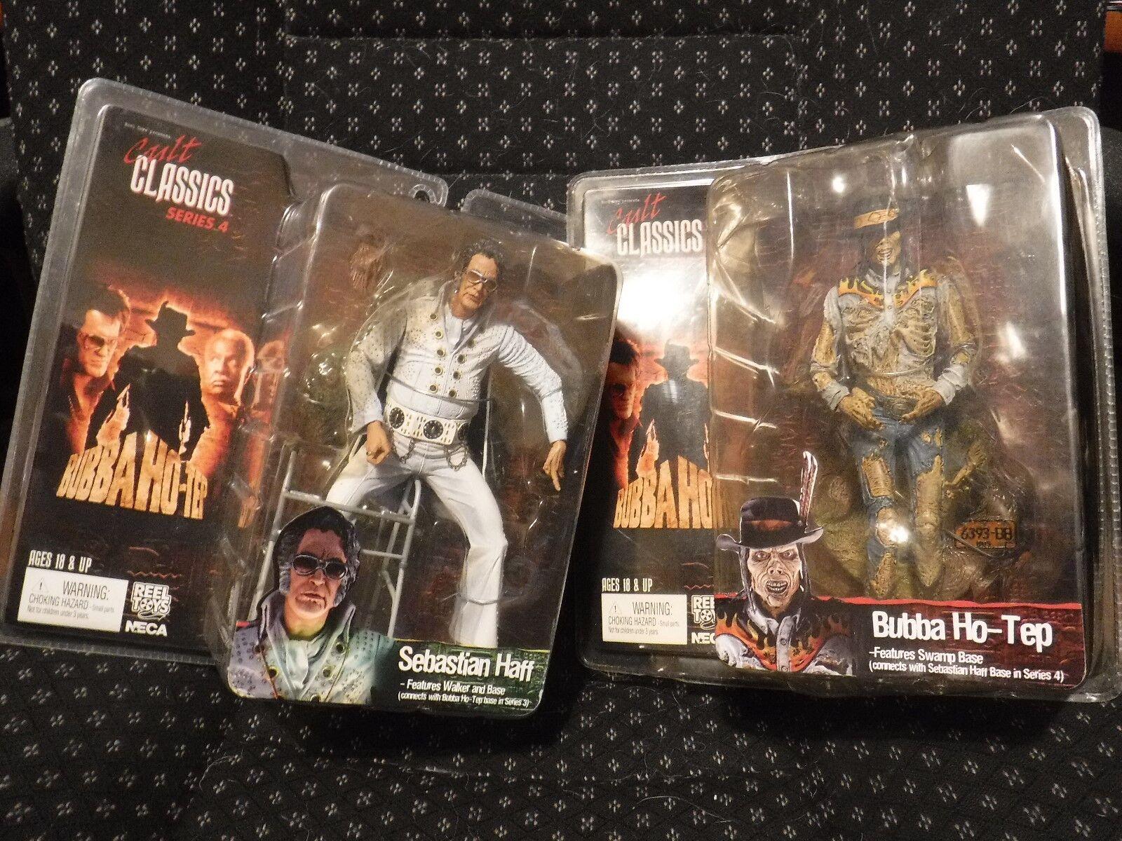 Neca Reel Juguetes Bubba Ho-Tep Mummy & Sebastian Haff aka Elvis Bruce Campbell