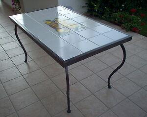 Details zu Tavolo Pranzo Tavolino Salotto FERRO BATTUTO Realizzazioni  Personalizzate . 672