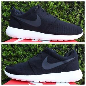 super popular 758d7 0355e Image is loading NIKE-ROSHE-ONE-SZ-9-5-BLACK-SAIL-