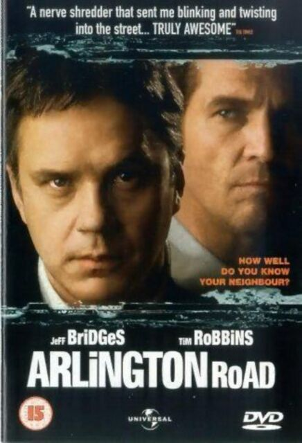 Arlington Road - 1999 Jeff Bridges,Tim Robbins Brand New and Sealed Region 2 DVD