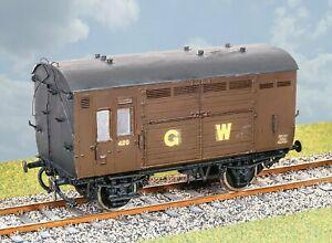 Parkside-PS105-O-Gauge-GWR-Horse-Box-Kit