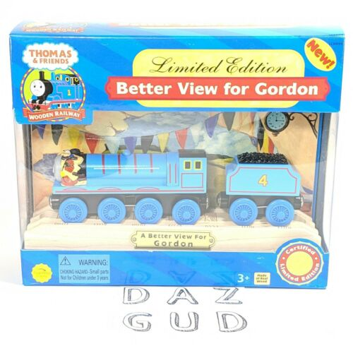 Limited Edition 2004 A Better View For Gordon Thomas and Friends Wooden Railway