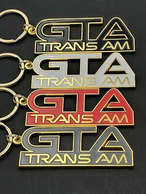 GTA Trans Am BLACK Cloisonne Nose Emblem Keychain