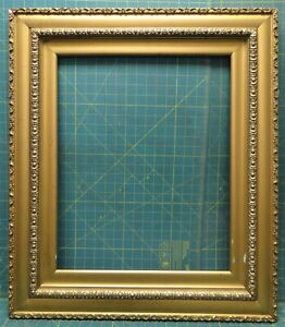"""Antique Wood Gilt Gesso Gold Picture Frame 29½"""" x 25¼"""" for 21¼"""" x 17¼"""" Photo"""