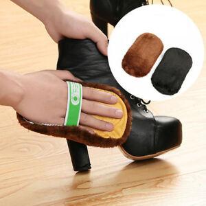 Protable Cloth Polishing Brush Shoes Polish Cloth Gloves