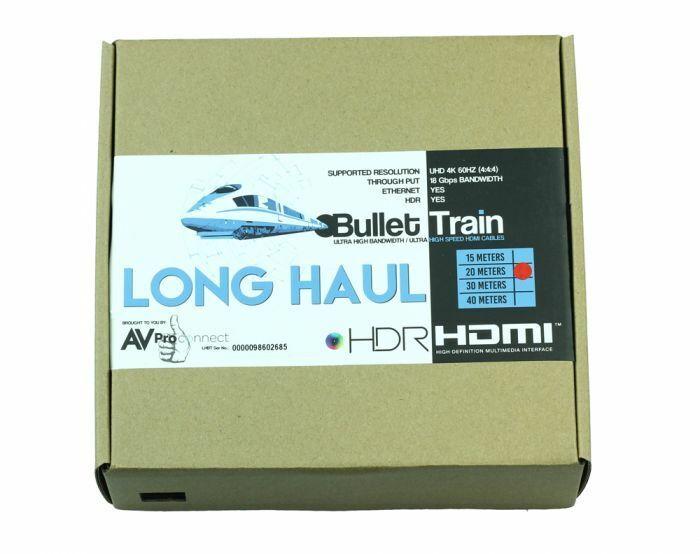 AC-BTAOC30-AUHD Bullet Train (Long Haul Lengths) 30 Meters (98.4 Feet)