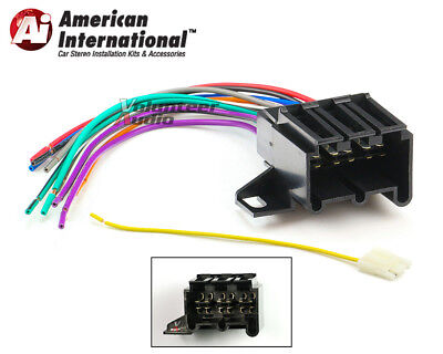 [XOTG_4463]  Early GM Car Stereo CD Player Wiring Harness Wire Aftermarket Radio Install  Plug | eBay | 1989 Cadillac Wiring Harness Color Codes In Stereo |  | eBay