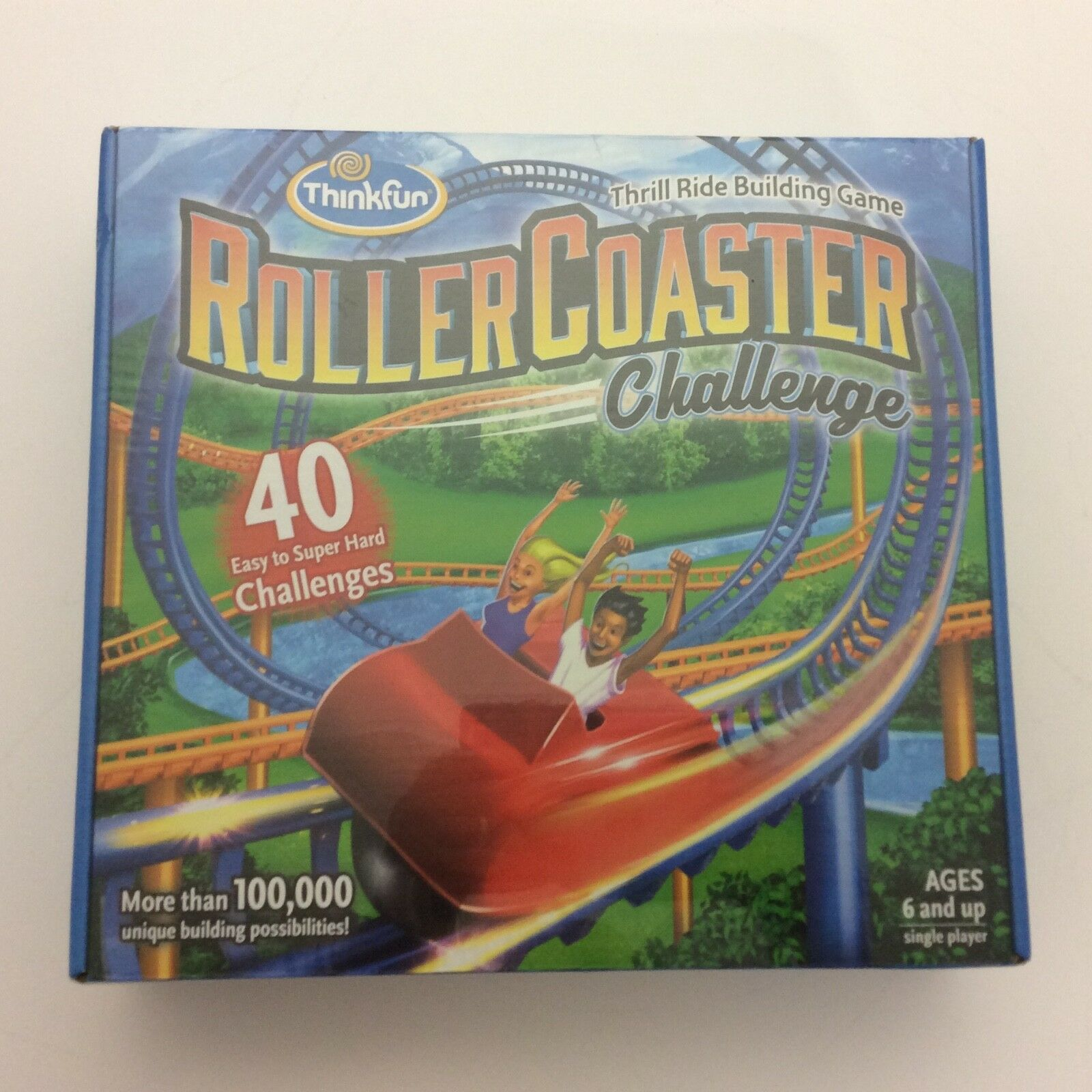 NEW Roller Coaster Challenge Logic And Building Game by Thinkfun, STEM Oriented