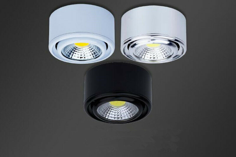 5W COB LED Wall Light Surface Mounted Background Wall Spotlight Pure White