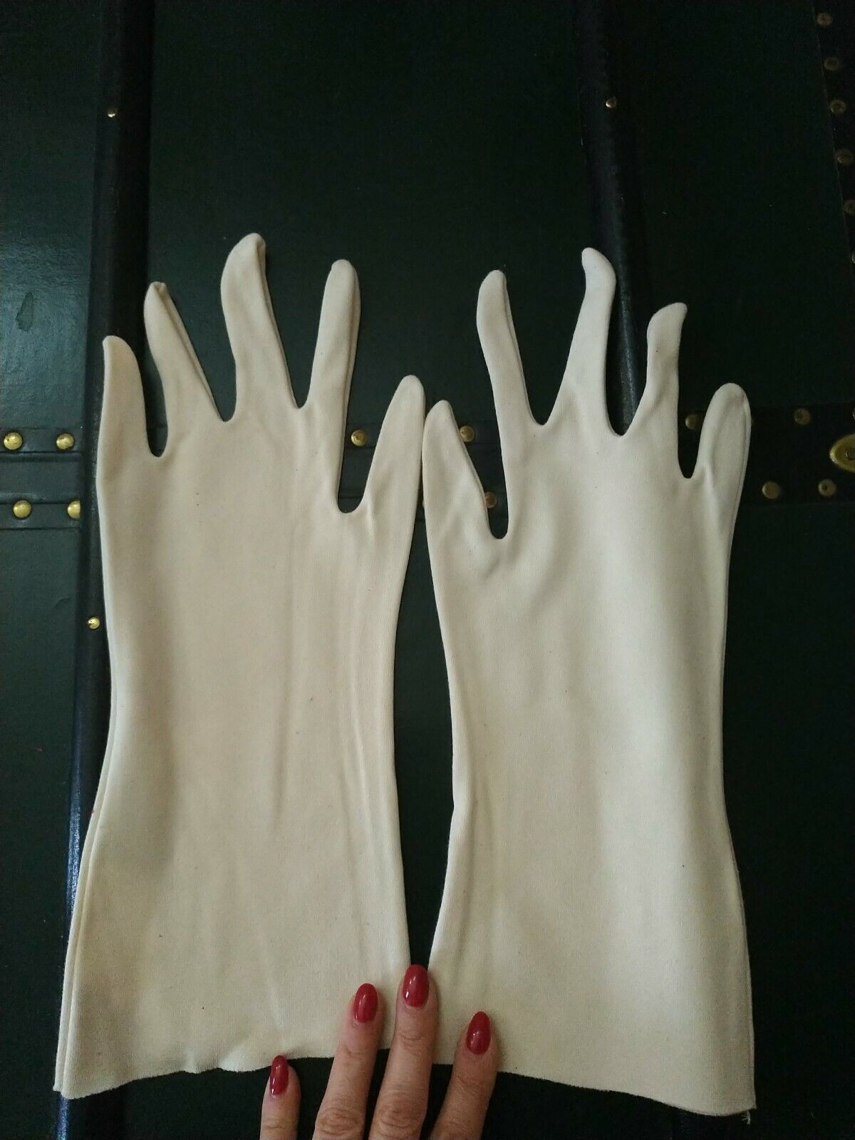 Gloves White Cotton Man Professional Artisan 35 Pairs