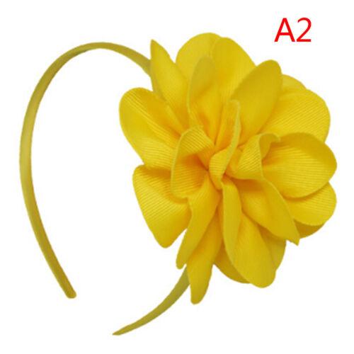 Große Blume Hair Bows Stirnband Haarbänder Hoop Haar Zubehör für Mädchen CNH