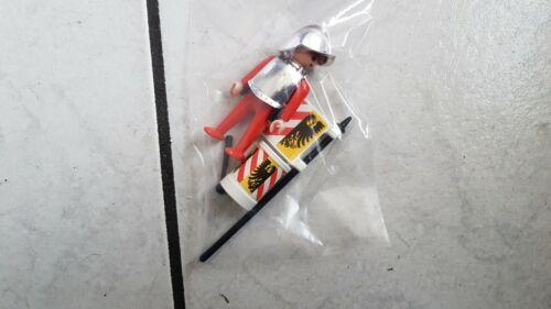 ein Ritter aus/für Set 3666 1.Ritter Serie Playmobil Schuldturmwache°