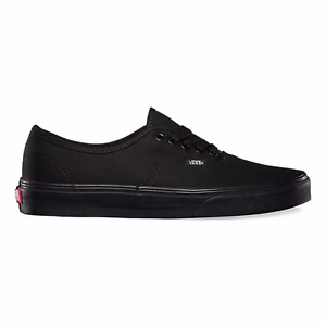 a388a11b7a Details about Men s vans classic authentic black black low top shoe