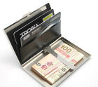 NEW Stainless Steel Money Clip & Credit Card Holder-D174