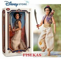 Disney Store Prince Aladdin Limited Edition 3500 Collector 17  Doll