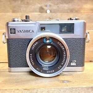 Yashica-Electro-35-Gx-35mm-Camera-Rangefinder-Filme-Testado-Completo-Estado-De-Funcionamento