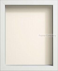 Radcliffe Range White Wooden Box Frames