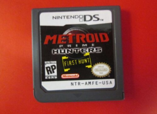 1 of 1 - Metroid: Prime Hunters - First Hunt (DS) Game Cartridge Only - Brand New