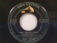 """ELVIS PRESLEY """"ONE BROKEN HEART FOR SALE / THEY REMIND ME TOO MUCH OF YOU"""" 45"""