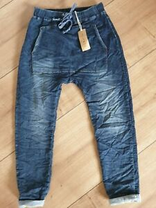 ITALY Melly/&CO BOYFRIEND JEANS Gr.L NEW COLLECTION MC-7007 TRENDY 2020