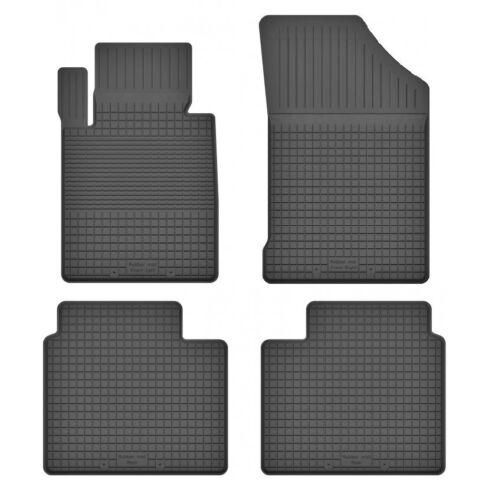 Gummimatten Fußmatten 1.5 cm Rand PEUGEOT 508 I Bj. 2010-2018 - 4-teile -Set