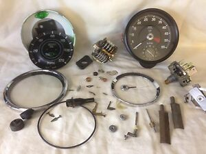 Details about Smiths / Uk Jaeger Cable Driven Speedometer / Speedometer  Repair Service