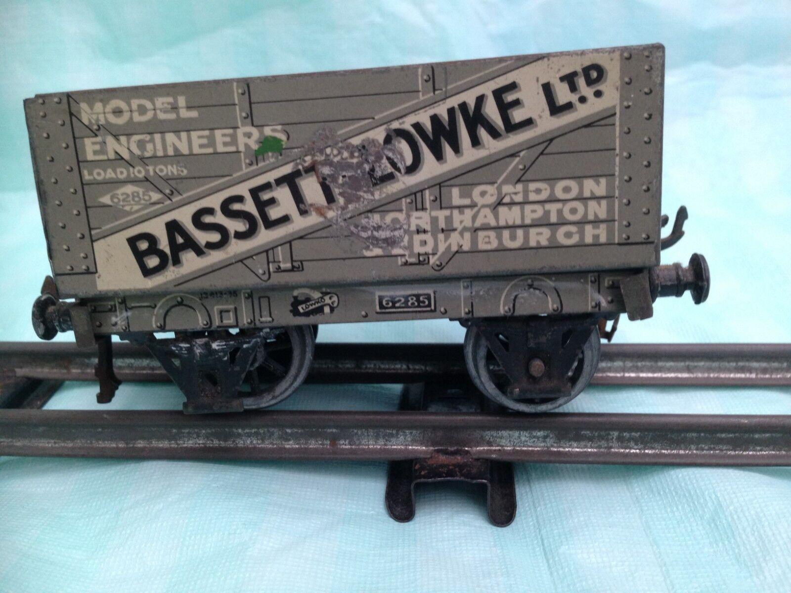 Vintage O Gauge Cocheette for Bassett-Lowke Open Wagon No 6285