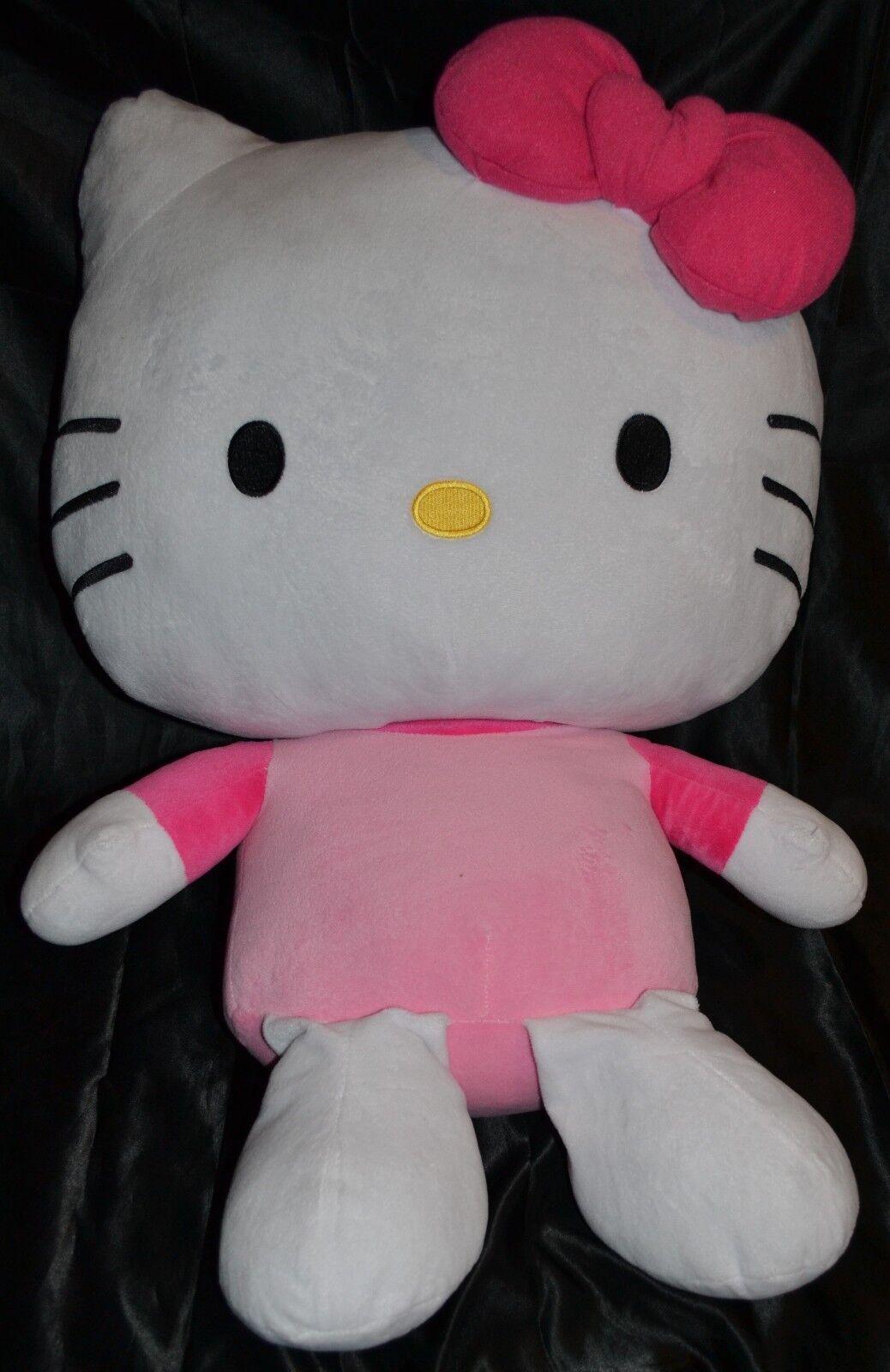 27.5  Jumbo Hello Kitty Muñecos Juguetes Animales De Peluche Peluche enorme Gran Tamaño Niño Grande