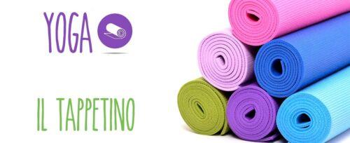 Tappeto Tappetino Yoga  Pilates Aerobica Palestra Fitness Ginnastica 180x62 dfh