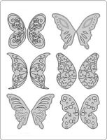Gelatin Art Veining Sheet - Fantasy Butterfly