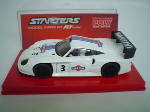 fly car model starters slot car porsche gt1 evo martini. Black Bedroom Furniture Sets. Home Design Ideas
