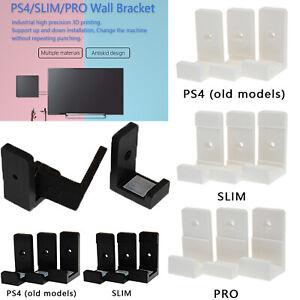 Soporte de pared Soporte de pared soporte de ajuste para PlayStation 4 PS4 Slim Pro Consola De Juegos