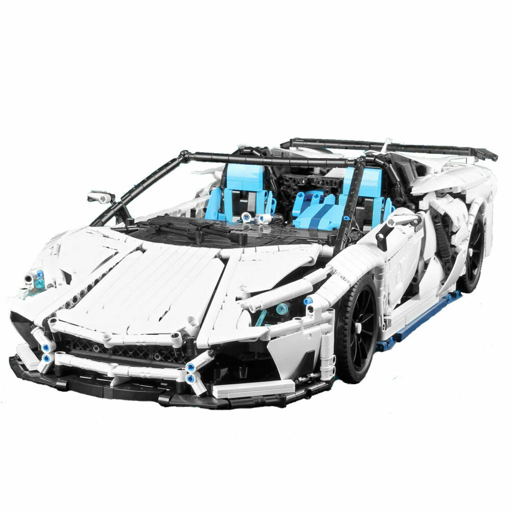 Lamborghini Aventador Svj Roadster Super Sport Voiture Blocs De Construction Technic 1.8