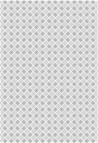 Creative Expressions Checkboard Pinpoint A4 Embossing Folder efpp 003