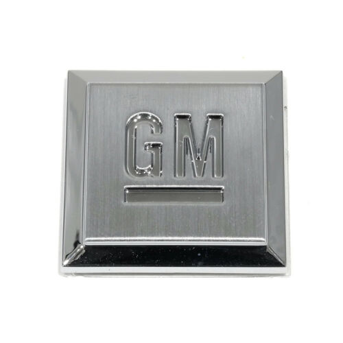 "OEM NEW GM Mark of Excellence 1/"" Square Fender Emblem Badge 15223484"