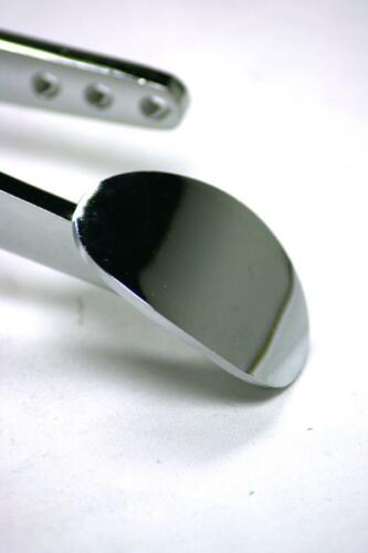 Black Throttle Cable Street Rod Chrome Spoon Gas Pedal Bracket /& Spring Kit