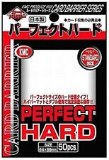 KMC Deck Protectors - Standard Size - Perfect Hard (50)