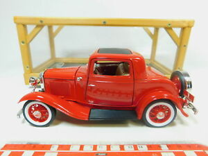 BP487-3-Road-Signature-1-18-92248-Metall-Pkw-Ford-3-Window-Coupe-1932-Nuovo