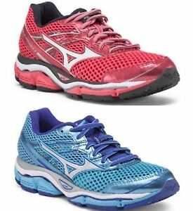 women 39 s mizuno wave enigma 5 soften the road ahead red blue all sizes bnib ebay. Black Bedroom Furniture Sets. Home Design Ideas