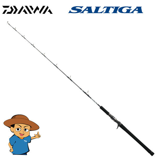 Daiwa SALTIGA JIGGING MODEL J60MB J Medium fishing baitcasting rod