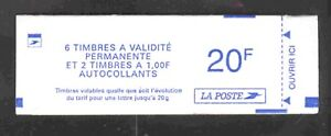 MARIANNE-LUQUET-TIMBRES-ADHESIFS-TYPE-II-CARNET-STERNERS-COMPOSITION-VARIABLE