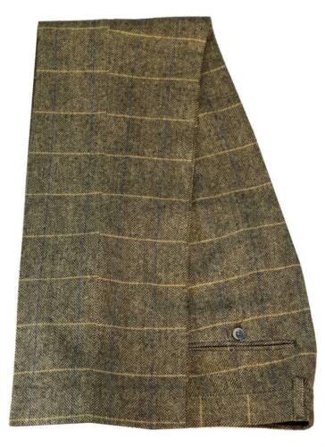 Men/'S TRASMISSIONE Albert Marrone Tweed Pantaloni acquistare nuove o Scambio di dimensioni della tuta pantaloni
