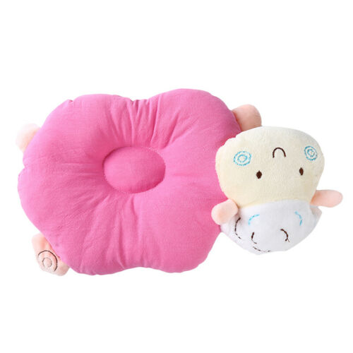 Baby Sheep Shaped Pillow Infant Sleeping Head Support Anti Flat Head Pillow ONE