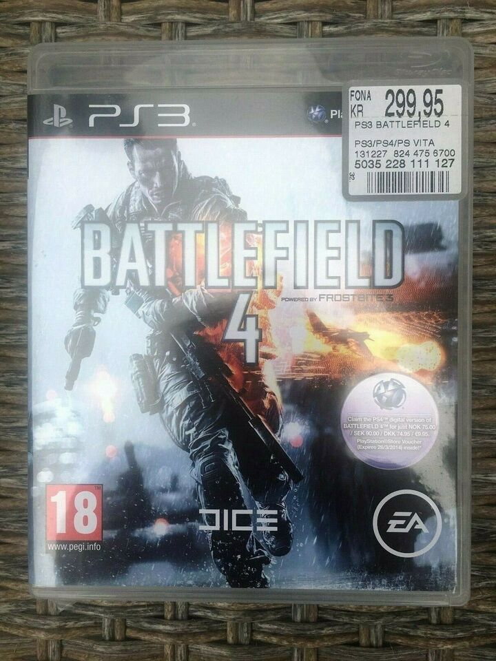 Battlefield 4, PS3, action
