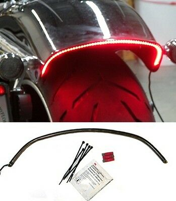 LED Fender Brake Light/Turn Signal Kit - Harley Davidson Breakout - Smoked Lens