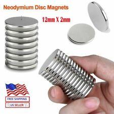 20100x Neodymium Magnets Round Disc N35 Super Strong Rare Earth 12mmx2mm Fridge
