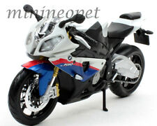 MAISTO 31191 2011 2012 BMW S1000RR S1000 RR BIKE MOTORCYCLE 1/12 WHITE
